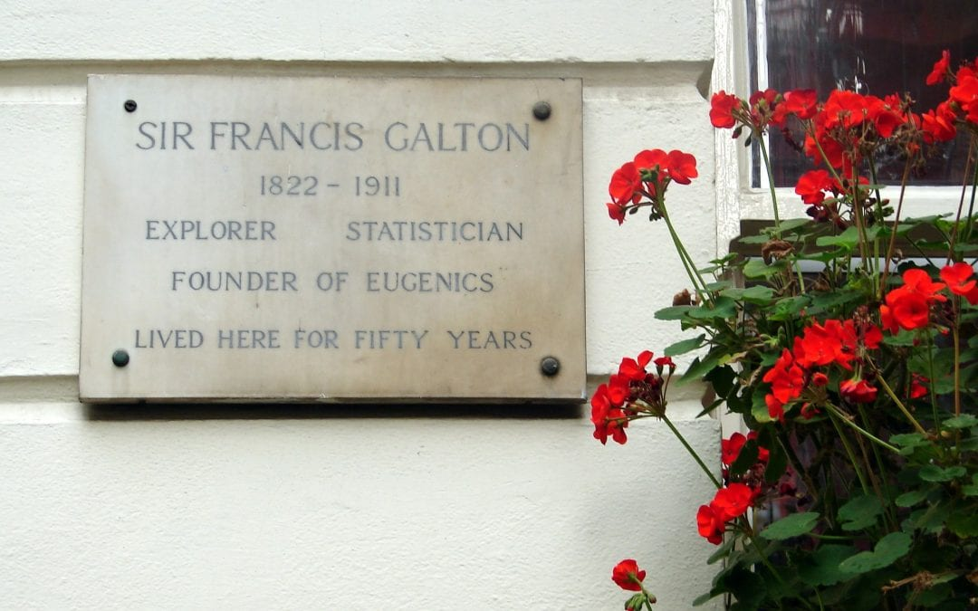 Sir Francis Galton plaque